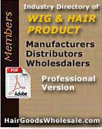 Official WORLDWIDE source Directory of Real wholesale wigs and Hair Product Manufacturers, Distributors & Wholesalers