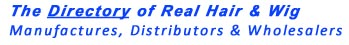 Directory of real hair and wig mqanufacturers, distributors and wholesalersd